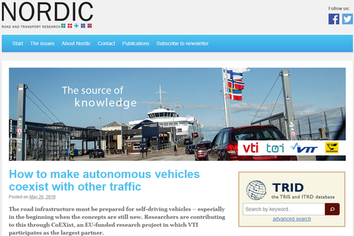 Nordic web page